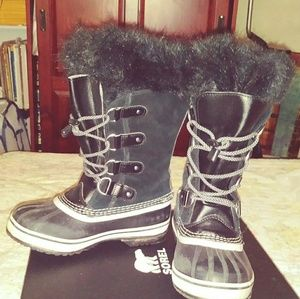 Kids Sorel Leather Boots